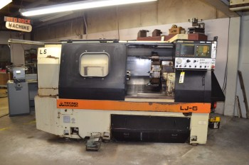 1993 WASINO LJ-6MC CNC LATHE TURNING CENTER