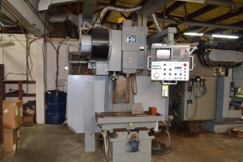 1985 SHIZOUKA MILLMASTER B-5V CNC VERTICAL MILLING MACHINE (PARTS ONLY)