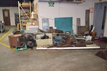 LOT OF ASSORTED FERROUS MATERIALS
