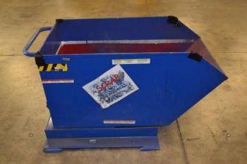 VESTIL P-HOP-0.5 STEEL DUMPSTER HOPPER