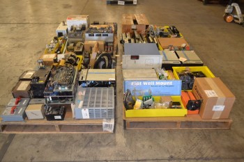4 PALLETS OF ASSORTED ELECTRICAL
