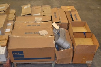 2 PALLETS OF ASSORTED ELECTRICAL ENCLOSURES