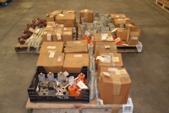 3 PALLETS OF ASSORTED SWITCHGEAR REPLACEMENT PARTS