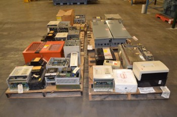 6 PALLETS OF ASSORTED MOTOR DRIVES