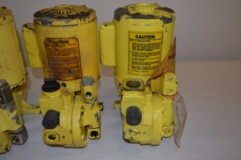 LOT OF 4 ASSORTED MILTON ROY METERING PUMPS