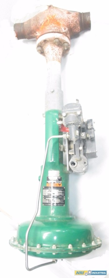 FISHER ES 3 IN 657 3582I STEEL PNEUMATIC CONTROL VALVE