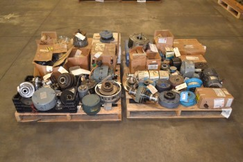 2 PALLETS OF ASSORTED CLUTCHES AND BRAKE PARTS