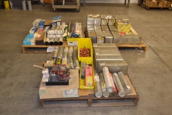 3 PALLETS OF ASSORTED WELDING SUPPLIES