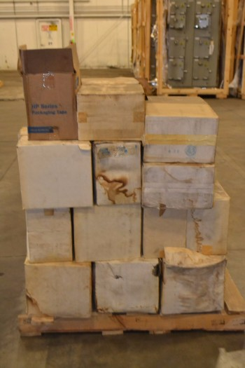 1 PALLET OF ASSORTED PACKAGING TAPE