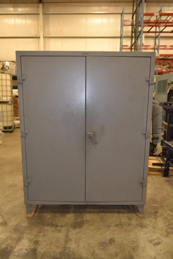 METAL UTILITY CABINET, 5 ADJUSTABLE SHELVES