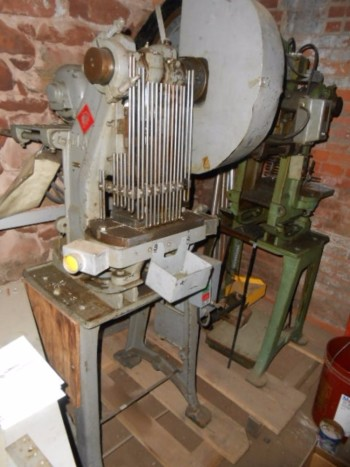 Waterbury Farrel 5 Ton Press, GE AC Motor 220v 3 Ph