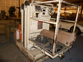 Lift-a-Loft Model KL-4, 6ft Lift Height, 500lb Capacity Man Lift
