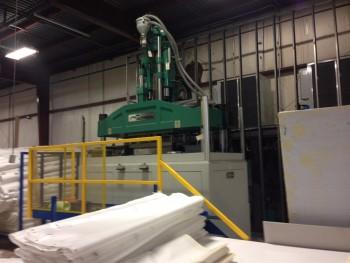 Multitech V160/2100 45MM Screw 160 Ton Vertical Injection Molding Machine