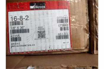 ARCOS 16-8-2, 1/8DIA X 36, 120 #S AVAILABLE