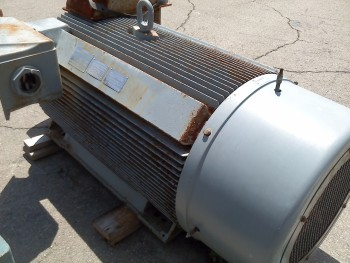 Siemens A-C Induction Electric Motor   600   HP