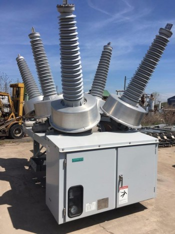 Siemens Hexafluoride Circuit Breaker Type SPS2-123-40-2