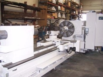 LeBlond, Model NK 3220 CNC Gap Bed Lathe