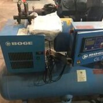 BOGE CL 7 Air Compressor Serial Number FE60337