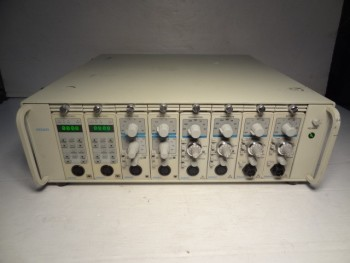 Gould 6600 Series 8-Channel Amplifier System P/N 11-4183-09 With (8) Modules