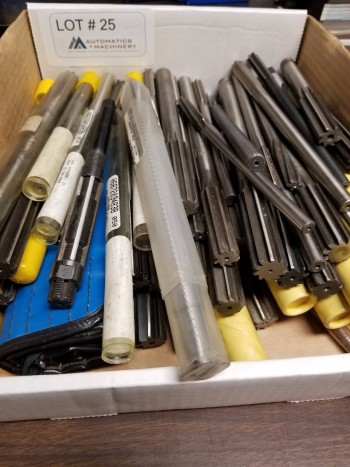 Large Assortment of Reamers