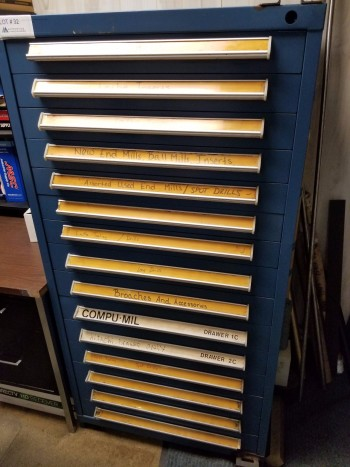 15 Drawer Vidmar Tool Cabinet