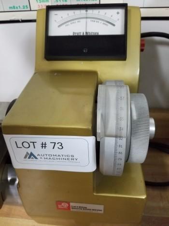 Pratt & Whitney Super Micrometer