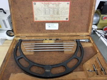 Starrett Micrometer Caliper