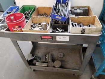 Vise Hold Downs Plus Cart and Contents