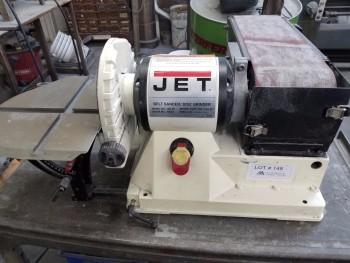 Jet JSG-96 Belt sander/ Disc Grinder