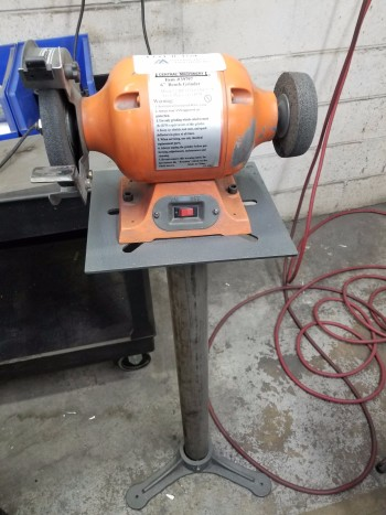 Central Machinery Pedestal Grinder