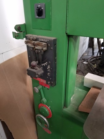 Powermatic 600 Vertical Bandsaw w/ extra blades