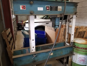 OTC 50 Ton Hydraulic Shop Press