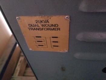25 KVA Dual Wound Transformer