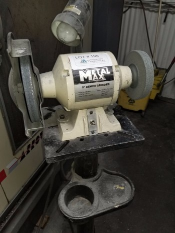Metal Max MM-8BG Bench Grinder with Stand