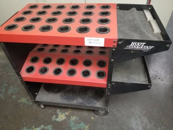 Cat-40 Rolling Tool Cart