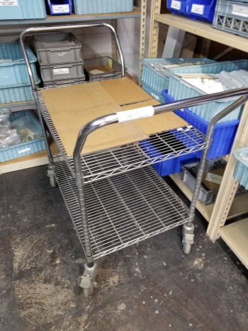 Rolling Cart No Contents