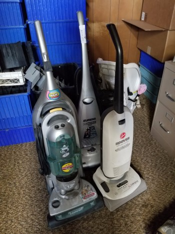 Vacuums QTY 3