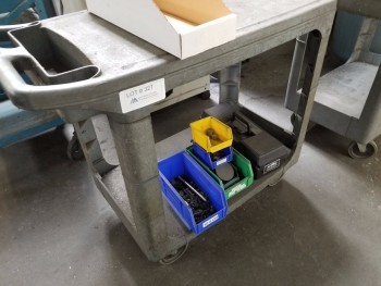 Rolling Cart, No Contents