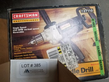Craftsman Spade Handle Drill