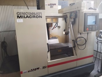1996 Cincinnati Millacron Arrow 500 4TH Axis CNC Vertical Machining Center