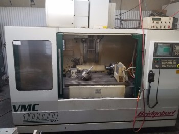 2001 Bridgeport VMC 1000 XP 4TH Axis CNC Vertical Machining Center