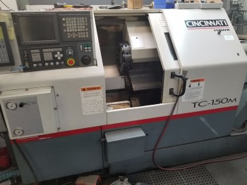 Cincinnati Millacron TC-150M Live Tool CNC Turning Center