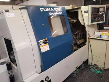 1996 Daewoo Puma 10HC CNC Turning Center