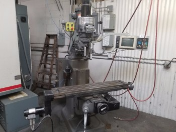 Bridgeport Series I EZ Trak CNC 2 Axis Knee Mill