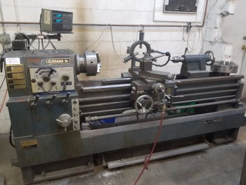 Osama SR SJ-1760G Manual Lathe