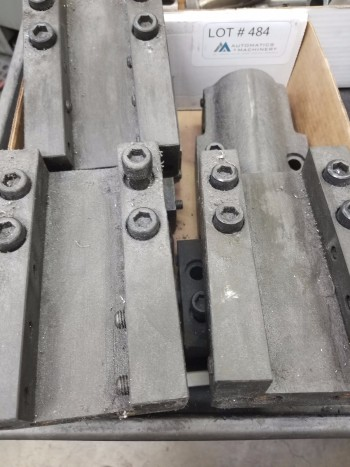 2 Boring Bar holders & 6 OD Tool Blocks