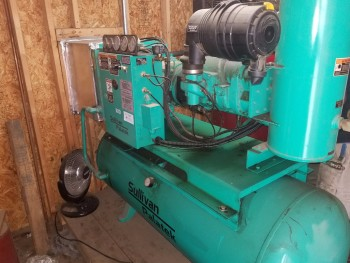 Sullivan 20 DT 20HP Rotary Screw Air compressor
