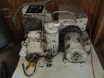 Ingersoll-Rand HP-150V Air Compressor with 100 Gal Tank