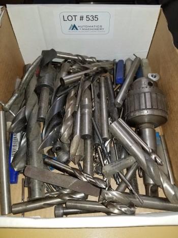 Misc Drills, Endmills, Drill Chuck