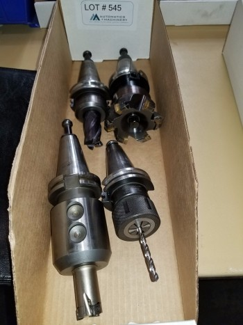 Misc Cat-40 Tool Holders Qty 4
